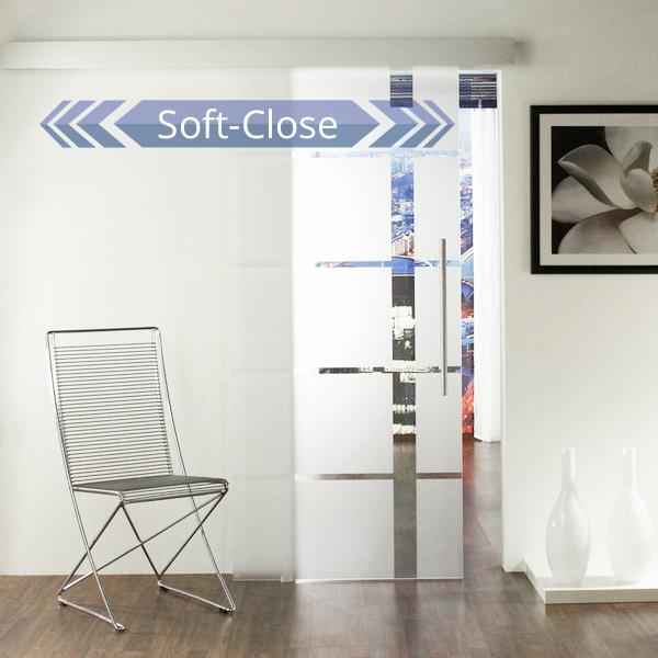 glasschiebet r set 18sa900 softstop jetzt kostenloser versand. Black Bedroom Furniture Sets. Home Design Ideas