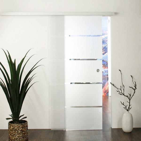 Schiebetür glas  Glasschiebetür - Set 3GA900-Dorma Agile 50 Schiebetür