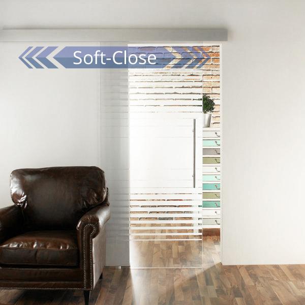 glasschiebet r set 9sa900 softstop jetzt kostenloser versand. Black Bedroom Furniture Sets. Home Design Ideas