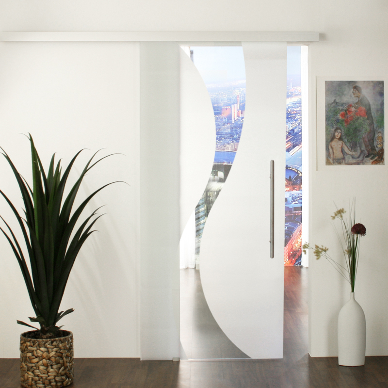 glasschiebet r set 16sa1025 jetzt mit kostenlosem versand. Black Bedroom Furniture Sets. Home Design Ideas